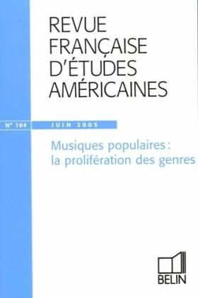 Revue française d'études...