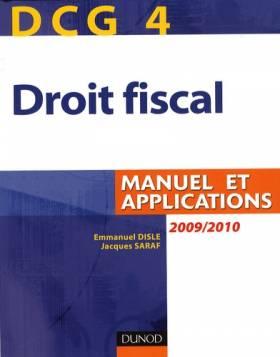 Droit fiscal DCG4 : Manuel...