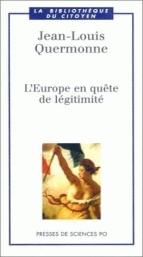 L'Europe en quête de...