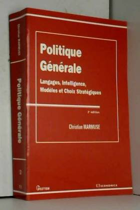 Politique générale