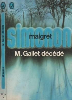 M. Gallet décédé