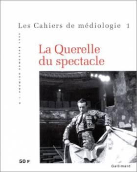 CAHIERS DE MEDIOLOGIE N°1 :...