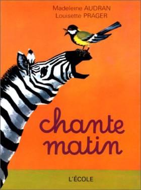 Chantematin : CP-CE1, livre...