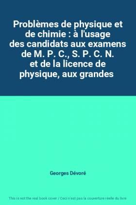 Problèmes de physique et de...