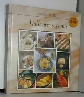 À table avec ses amis