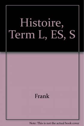 Histoire, Term L, ES, S