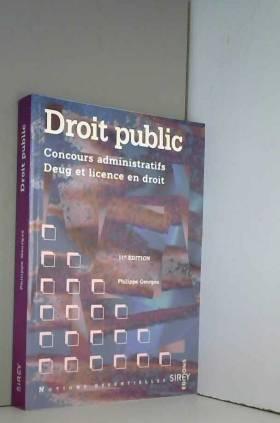 DROIT PUBLIC. 11ème édition