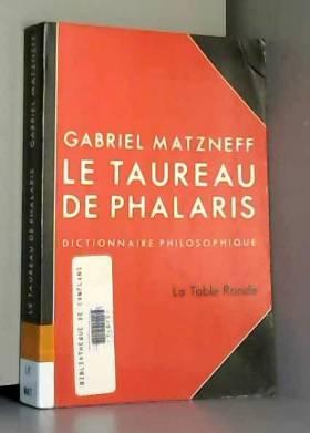 Le taureau de Phalaris:...
