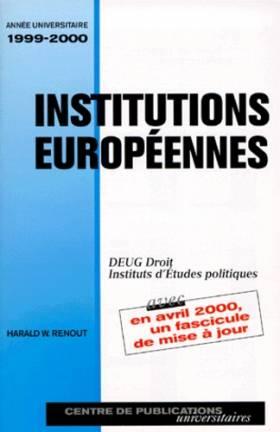 Institutions européennes :...