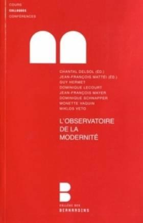 L'Observatoire da la modernité