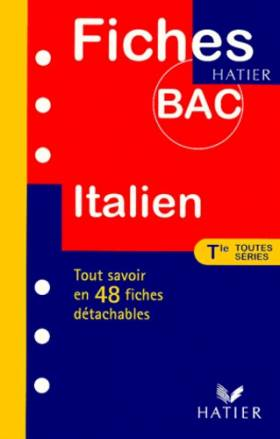 Fiches Bac italien,...