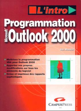 Programmation Outlook 2000