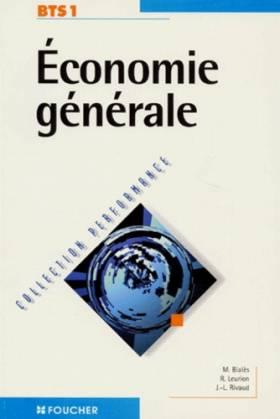 Economie générale, BTS 1e...