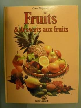 Fruits : Desserts aux fruits