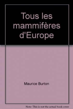 Tous les mammifères d'Europe