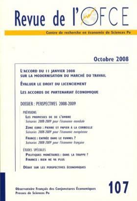 Revue de l'OFCE, N° 107,...