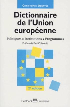 DICTIONNAIRE DE L'UNION...