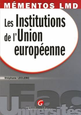 Les Institutions de l'Union...