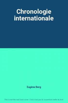 Chronologie internationale