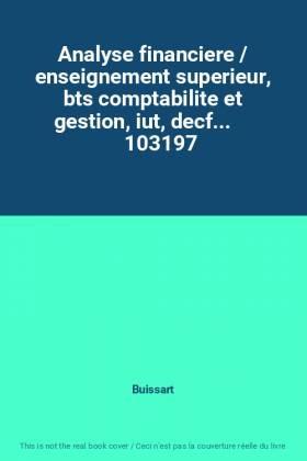 Analyse financiere /...