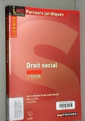 DROIT SOCIAL 2E EDITION...