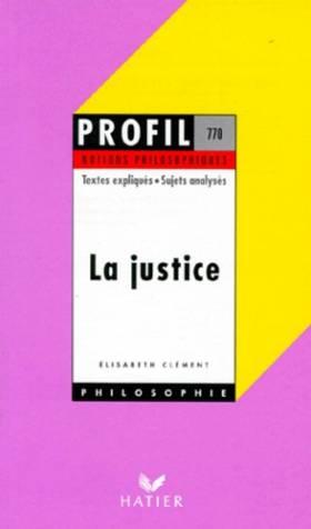 La Justice - Notions...