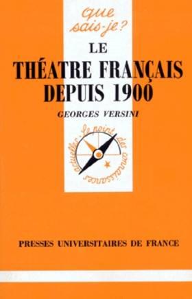 Le théâtre français depuis...