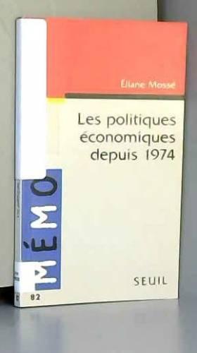 Les politiques économiques...