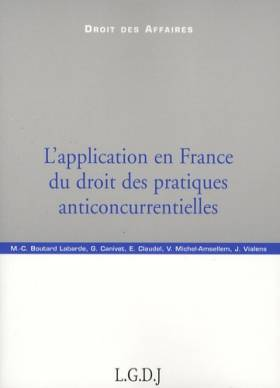 L'application en France du...