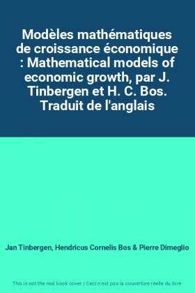Modèles mathématiques de...