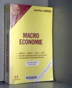 La macroéconomie : DPECF,...