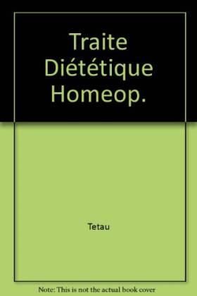 Traite Diététique Homeop.