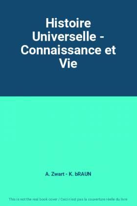 Histoire Universelle -...