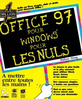 Office 97 pour Windows pour...
