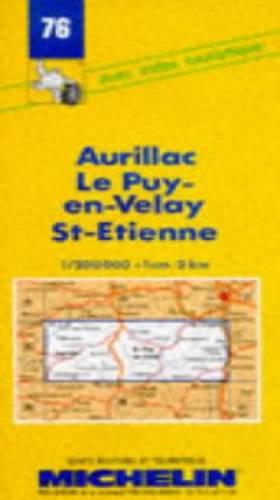 Carte routière : Aurillac -...