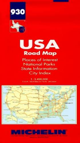 Michelin USA Road Map, No...