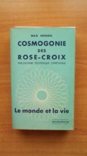 Cosmogonie des rose-croix...