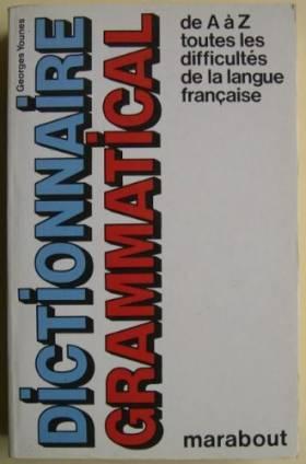 Dictionnaire grammatical de...