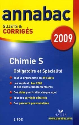 Chimie S : Sujets et corrigés