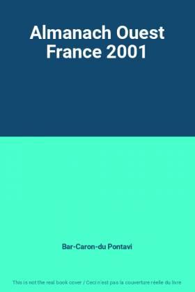 Almanach Ouest France 2001