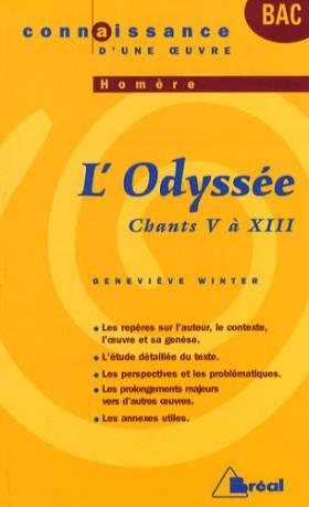 L'Odyssée, Homère : Chants...