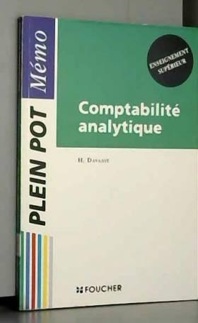 Comptabilité analytique,...