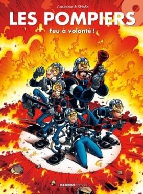 Les Pompiers, Tome 9 : Feu...