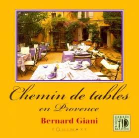 Chemin de tables en Provence