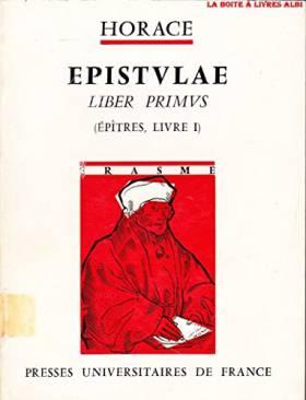 Epistulae - liber primus...