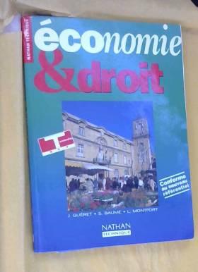 Jérôme Guéret - Economie et droit, Terminale BEP. Livre de l'élève