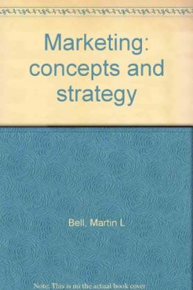 Marketing: Concepts and...