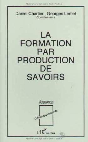 La Formation par production...