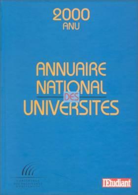 Annuaire des universités, 2000