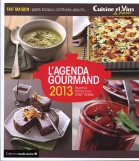 Agenda Gourmand 2013 (l')